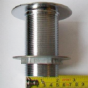 Shower Waste Chrome Wide Flange Long Thread - 74000632